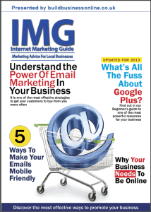 Internet Marketing Guide August 2013 cover